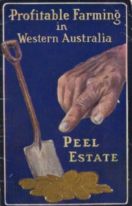 Group Settlement Scheme promotional poster