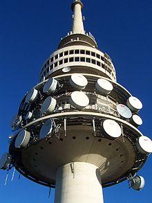 Revolving restaurant, Black Mountain tower