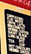 Flat white menu - Moors Espresso Bar