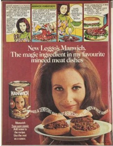 Leggo's Manwich launch advertisement