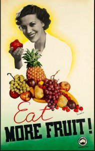 Railways Fruit Kiosk poster