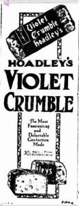 Violet Crumble 1923