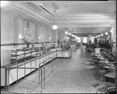 First Coles Cafeteria Australian Food History Timeline