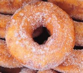 Downyflake style of Donut