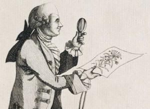 Joseph Banks - Satirical cartoon
