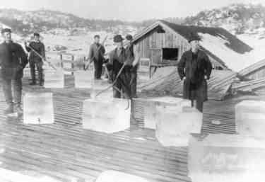 Ice for the ice trade - Norway