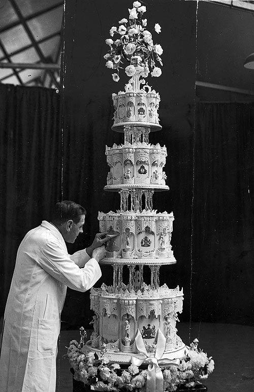 Royal Wedding Cake Australian Food History Timeline