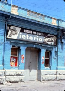 The Pieteria in Melbourne served up the Australian pie at all hours