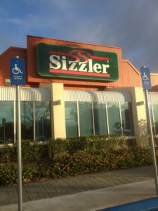Sizzler store
