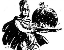 Empire Christmas Pudding - illustration from 1926