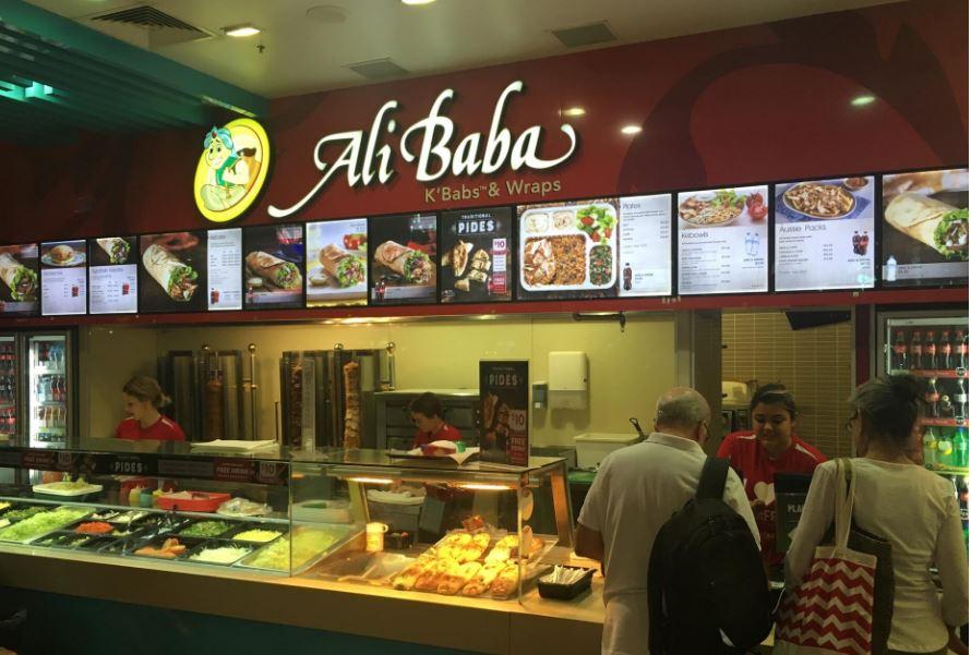 Ali Baba kebab outlet