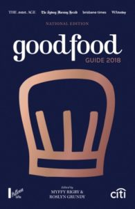 Good Food Guide 2018 - national edition