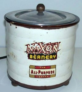 Maxon Beanery - Fore-runner of the crock-pot