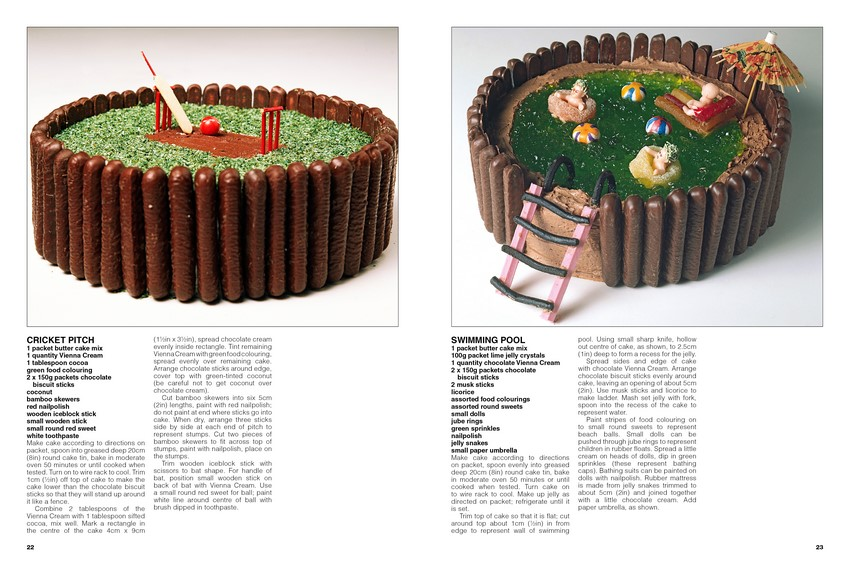 Pages from the Birthday Cake Book