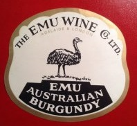Emu Burgundy logo