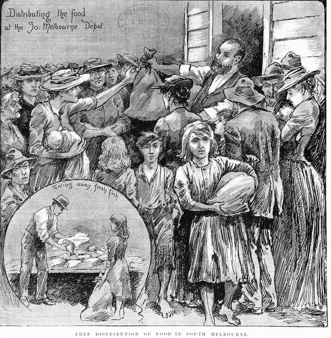 1890s depression food aid