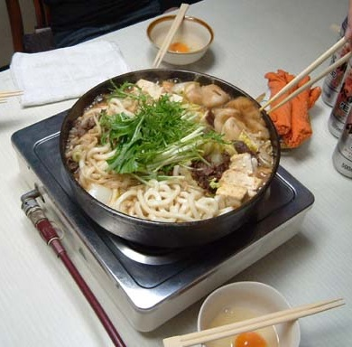 The first Japanese Restaurant was a Sukiyaki Room