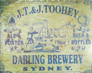 Tooheys Darling Brewery