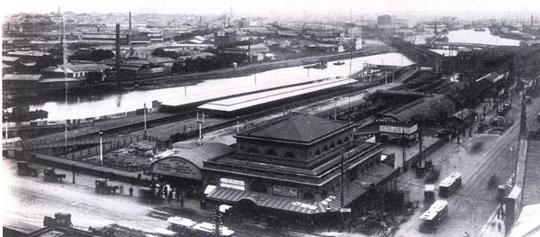 First Melbourne fish market building