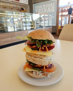 Double cut rolls from the Tailem Bend bakery could pose a challenge