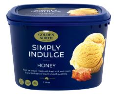Golden North Ice Cream - Honey flavour