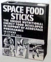 White Wings Space Food Sticks
