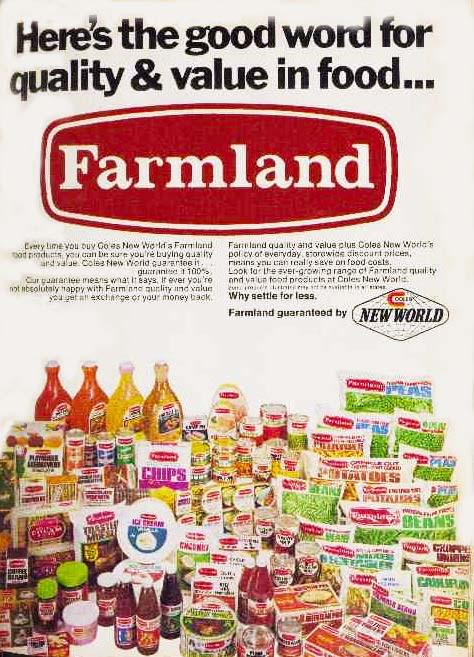 Farmland brand ad 1975
