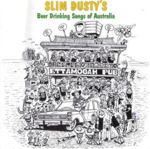 Slim Dusty beer drinking songs album cover