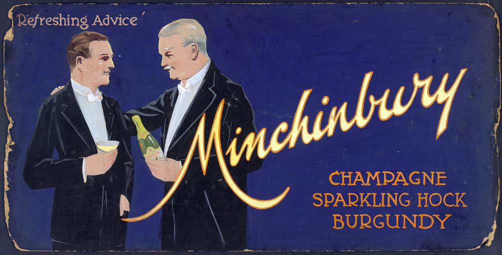 Minchinbury Champagne advertising 1940s