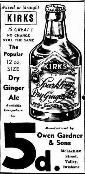 Kirks advertising 1952