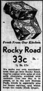 Rocky Road came before Rocklea Road