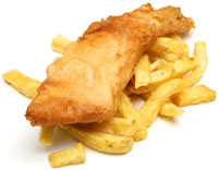 flake became the favourite in fish & chips