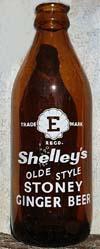 Shelley's soft drinks - ginger beer bottle