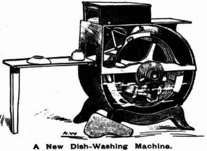 Dishwasher c. 1900