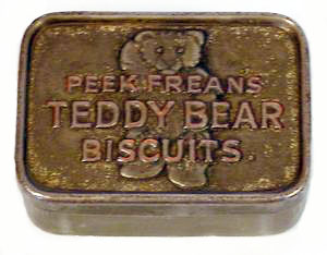 Peak Frean's Teddy Bear Biscuits - date unknown