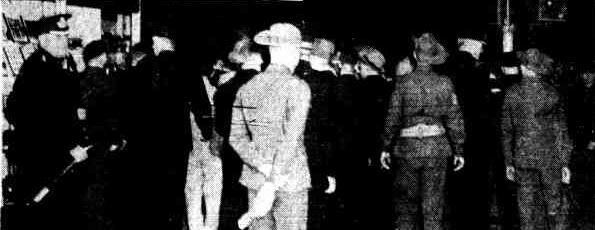 Beer Riot, Brisbane, 1940
