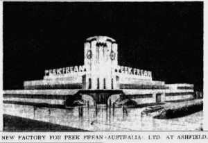 Vita-Weat building, Ashfield, 1937