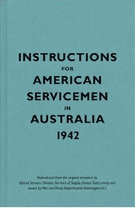 Cover, Instructions for American Servicemen in Australia