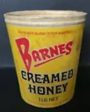 Barnes Honey - Creamed Honey