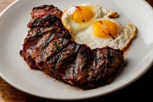 Steak and eggs - Australia's national dish?